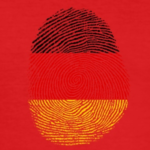 German fingerprint - Men's Slim Fit T-Shirt