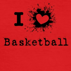 iLove Basketball - Männer Slim Fit T-Shirt