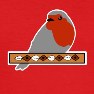 Red-throated banner - Slim Fit T-skjorte for menn