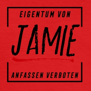 Jamie - Männer Slim Fit T-Shirt