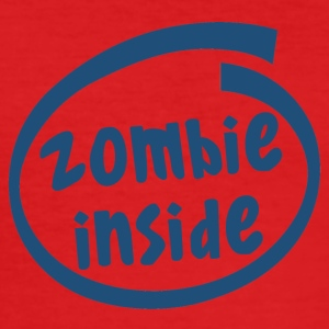 zombie innsiden (1840C) - Slim Fit T-skjorte for menn