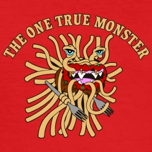 the one true monster WITH FORKS - Men's Slim Fit T-Shirt