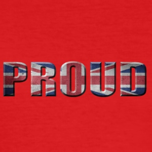 PROUD ENGLAND PRIDE GREAT BRITIAN - Men's Slim Fit T-Shirt