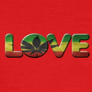 i love cannabis - Men's Slim Fit T-Shirt