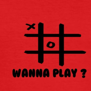 Wanna play - Männer Slim Fit T-Shirt