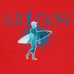 surf nu surfer med hætte - Herre Slim Fit T-Shirt