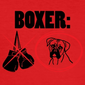Dog / Boxer: Boxer - Slim Fit T-skjorte for menn