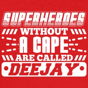 DJ - SUPER HEROES uten en CAPE - Slim Fit T-skjorte for menn