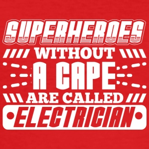 SUPERHEROES ELECTRICIAN - Men's Slim Fit T-Shirt