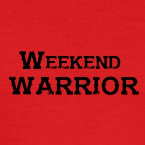Shirt Weekend Warrior Wochenende Party - Männer Slim Fit T-Shirt