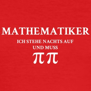 Mathematiker - Männer Slim Fit T-Shirt