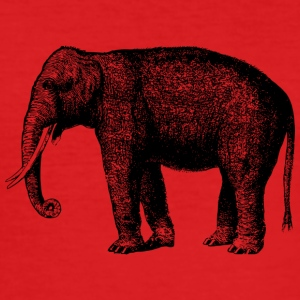 Elephant - Männer Slim Fit T-Shirt