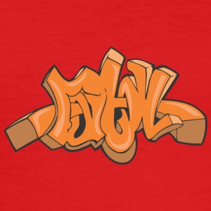 ma Graffiti - Männer Slim Fit T-Shirt