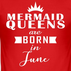 Havfrue Queens juni - Herre Slim Fit T-Shirt