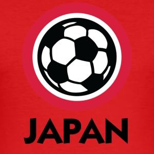 Japan Football Emblem - Tee shirt près du corps Homme