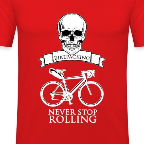 Never Stop - T-shirt près du corps Homme