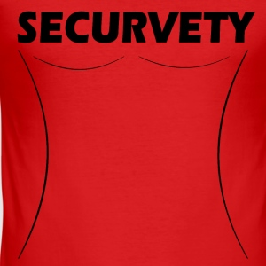 Securvety - Sexy Curvy security. - Men's Slim Fit T-Shirt