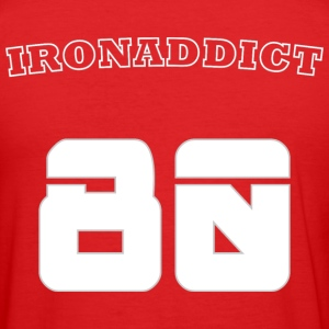 Iron Addict - Men's Slim Fit T-Shirt