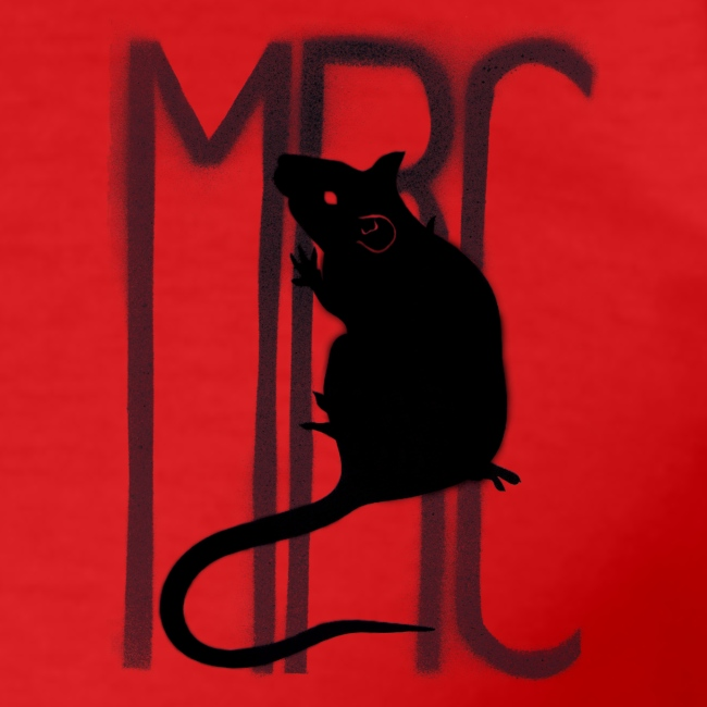 MRC Banksy rat black