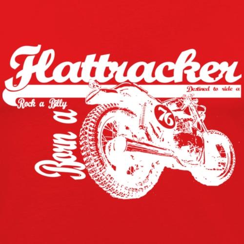 flattracker white - Herre Slim Fit T-Shirt