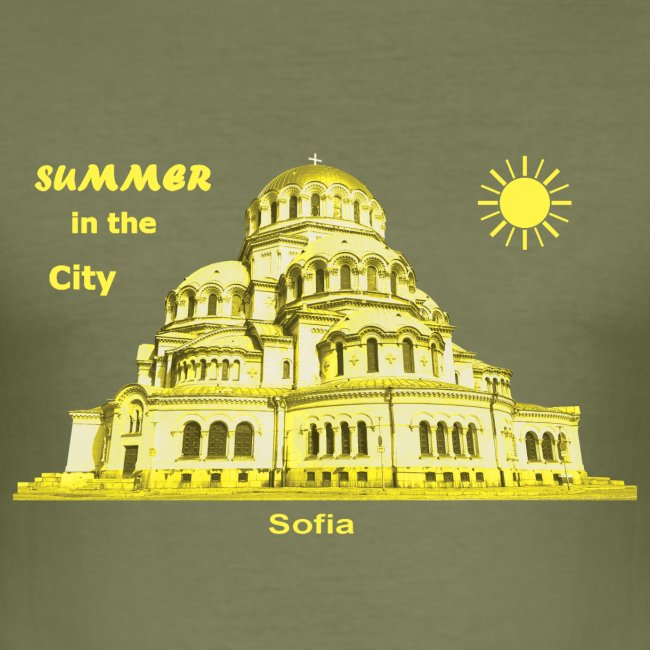 Summer Sofia Bulgarien City
