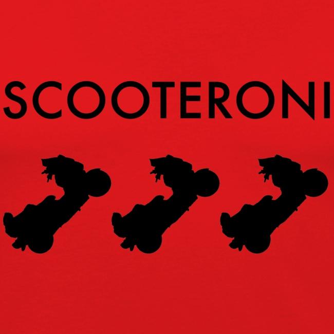 T-SHIRT SCOOTERONI BLACK