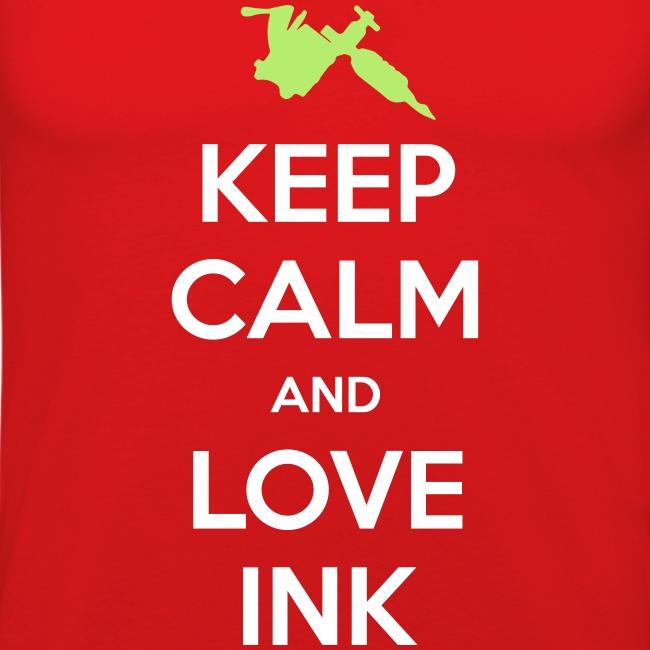 Love Ink Keep Calm