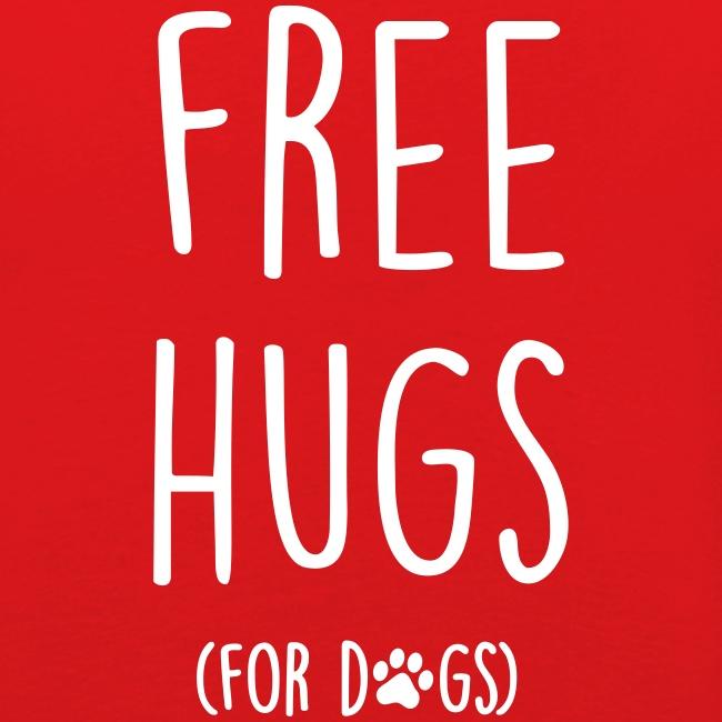 Vorschau: free hugs for dogs - Männer Slim Fit T-Shirt