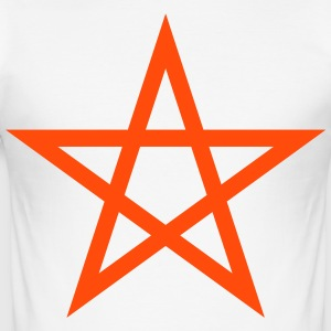 pentagram Wicca - Slim Fit T-shirt herr