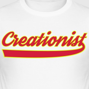 creationist - Men's Slim Fit T-Shirt