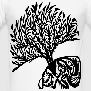 tree tribe - Men's Slim Fit T-Shirt