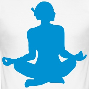 NYHED FRA USA! LUKSUS YOGA EDITION BY Raffa - Herre Slim Fit T-Shirt