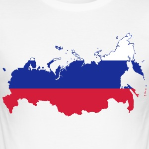 RUSSIAN BEAR COLLECTION - Slim Fit T-skjorte for menn