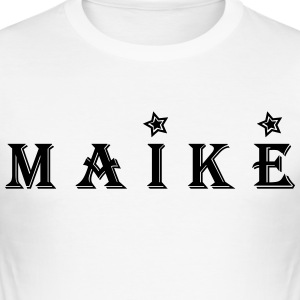 Maike - Slim Fit T-shirt herr