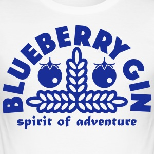 Blueberry Gin - Men's Slim Fit T-Shirt