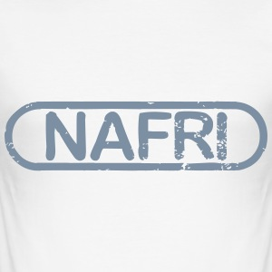 NAFRI Stamp - Herre Slim Fit T-Shirt