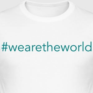 #wearetheworld - Slim Fit T-shirt herr