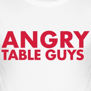 angrytableguys.com - Slim Fit T-shirt herr