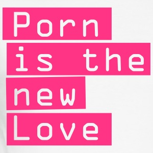 Porn is the new love. Dirty erotic spell - Men's Slim Fit T-Shirt