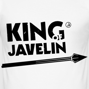 Kongen av Javelin - Slim Fit T-skjorte for menn
