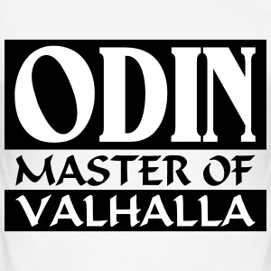 Odin _-_ Master_Of_Valhalla - Slim Fit T-skjorte for menn
