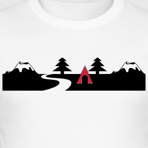 Hiking - Men's Slim Fit T-Shirt