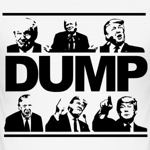 DUMP TRUMP - Herre Slim Fit T-Shirt