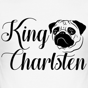 King Charlsten Logo - Männer Slim Fit T-Shirt