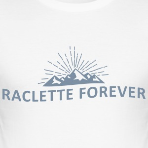 Raclette forever - Tee shirt près du corps Homme