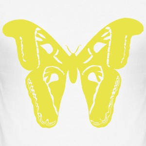butterfly - Slim Fit T-shirt herr