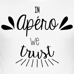 In apéro we trust - Tee shirt près du corps Homme