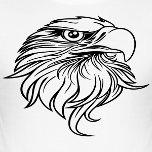 eagle head - Men's Slim Fit T-Shirt