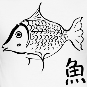 Koi Japan - Slim Fit T-shirt herr