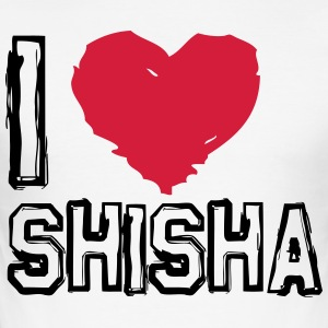 I LOVE SHISHA! - Men's Slim Fit T-Shirt